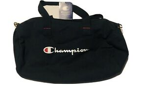 CHAMPION Logo Champ Duffle Bag Navy Travel Bag CH1124-410 NEW WITH TAGS