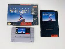Final Fantasy: Mystic Quest (Complete In Box, SNES)