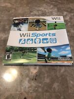 Wii Sports (Nintendo Wii, 2006) Multiplayer Video Game with CD Sleeve.