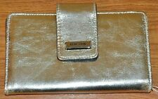 Great Kenneth Cole Reaction Women's Whitney Wallet Organizer - Gold - NWT $50.00