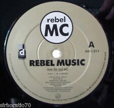 "REBEL MC Rebel Music : From The Heart / Soul - 12"" single"