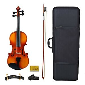 Artist SVN34 Solid Wood Student Violin Package 3/4 Size - New