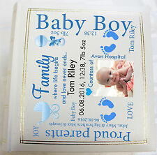 Personalised Photo Album, Memory book,Baby Birthday,  (6 x 4) 300 photos