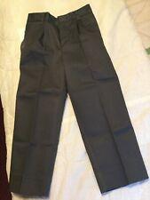 Authentic Galaxy Little Boys Button School Uniform Pants Gray Size 4