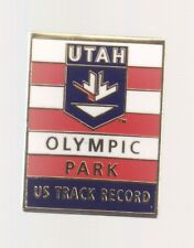 2002 Salt Lake City Olympic Pin Utah Olympic Park US Track Record