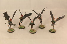 Warhammer Dark Eldar Scourges Pro Painted