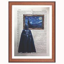Darth Vader vs van GOCH-Diccionario impresión de arte de Star Wars Pop Art estrellado Bo