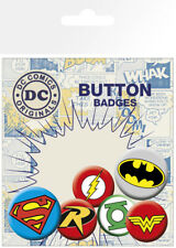 GB Eye DC Comics Logos Badge Pack