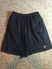 Road Runner Sports Brand Running Track Shorts Athletic Lined Black Mens Small Kd