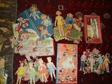 Lot Vintage Paper Doll Sets, Judy Pds, Little Brothers/Sisters, Playmates, more