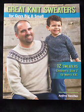 Great Knit Sweaters for Guys Big & Small 12 Sweaters Kid's Men's Andrea Sanchez
