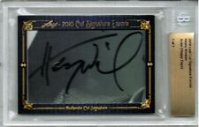 Henry Winkler Fonzie 2010 Leaf Cut Signatures Auto 1/1 Signed BGS Authentic Rare