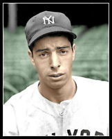 Joe DiMaggio #5 Photo 8X10 - Rookie 1936 Yankees COLORIZED