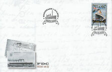 Aland 2012 FDC Titanic 100 Years 1v set Cover White Star Line Liner Boats RMS