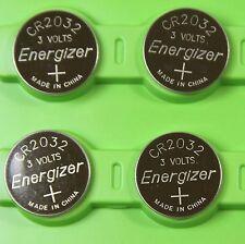 4pc Energizer CR2032 ECR2032 3V Lithium Battery LITHIUM CR 2032 DL2032 BR2032
