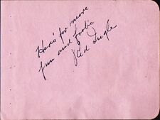 Vintage RED INGLE Autograph - ca.1940