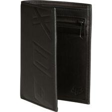 Fox Racing Silencer Leather Bifold Wallet Black Unisex