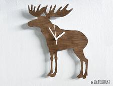 Reindeer - Wooden Wall Clock