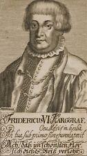 Bildnis des Fridericus VI., Marggraf zu Baden-Durlach, Radierung