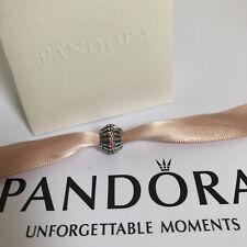 Authentic Pandora Show Stopper Fancy Pink CZ Charm/Bead Silver 925 ALE 790545CZS