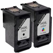 Remanufactured Canon PG-540XL CL-541XL Ink Cartridges - For Canon Pixma MG3150