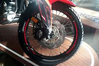 STRISCE ADESIVE per CERCHI MOTO compatibili HONDA AFRICA TWIN 1000 L - 1100 L