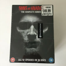 Sons of Anarchy DVD Boxset COMPLETE 1-7 Seasons Series 1 2 3 4 5 6 7 NEW