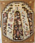 Carpet   handmade wool Navajo native American Kelim lifestyle design 5 x 4 FT