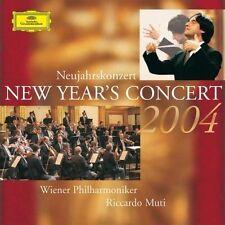 Neujahrskonzert 2004 (DG) Wiener Philharmoniker/Riccardo Muti [2 CD]