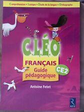 Cléo - CE2 - Français - Guide pédagogique