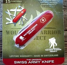 Victorinox FIELDMASTER Wounded Warrier Project Original Swiss Army Knife NEW