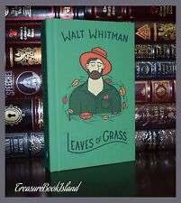 Leaves of Grass by Walt Whitman Brand New Collectible Cloth Bound Hardcover Gift