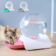 2.8L Automatic Pet Drink Dispenser Indoor Dog Cat Feeder Gravity Water Bowl Pink
