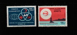 TÜRKEI / TURKEY Mi. 2143-44** / MNH / Rotes Kreuz / Red Cross