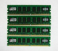 8GB 4x2GB PC2-5300E ECC unbuffered DDR2 667 server Memory KINGSTON KVR667D2E5/2G