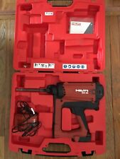 Hilti GX-IE Gas Actuated Nail Insulation Fastener Kit With Battery And Charger