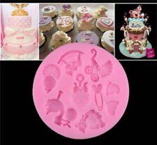 von Kuchen Fondant Seife 3D Babyfuß Mould für Kuchen Baby Shower Silicon Mold