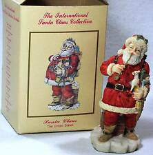 Santa Figurine International Santa Claus Collection USA 1992
