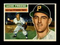 1956 Topps Baseball #46 Gene Freese (Pirates) NM
