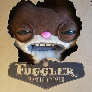 Spinmaster Fuggler Funny Ugly Monster Plush Brown Sketchy Squirrel