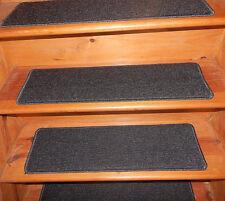 13  Step 9'' x 30'' + Landing 30'' x 30'' In/Outdoor Vinyl Stair Treads Non-Slip