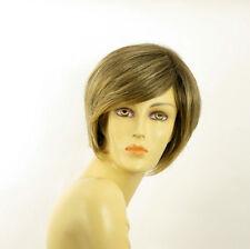 short wig for women brown wick golden ref LANA 6t24b PERUK