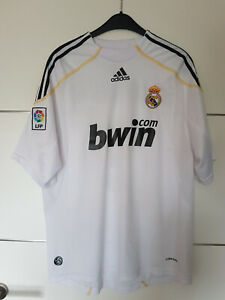 Real Madrid Trikot Cristiano Ronaldo CR Nummer 9 Saison 2009/2010 Gr. XL wie L