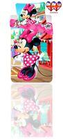 Official Disney MinMouse TODDLER Kids Duvet Set,Duvet Cover&Pillowcase(140X90)Cm