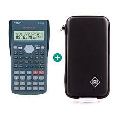 Casio FX 82 MS Taschenrechner + Schutztasche Schutzhülle