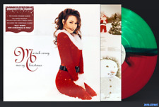 MARIAH CAREY Merry Christmas LP GREEN/RED VINYL Sealed NEW Exclusive Red Green