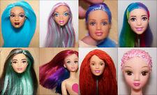 Têtes Barbie Unique Custo OOAK reroot! Aux choix, FDP combinés!
