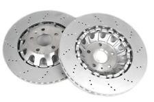 2X Genuine Audi TT-RS 370mm Front Punched Brake Discs 8J0615301K FREE DELIVERY