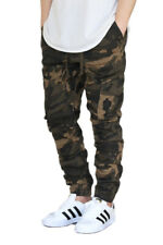 MEN'S CAMO CARGO TWILL STRETCH JOGGER PANTS (S-5XL) 5 COLORS * VICTORIOUS *