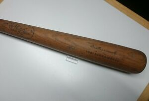 Vintage SOLID Baseball Bat JC Higgins No. 1744 Professional Yogi Berra Model HOF